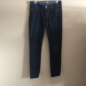 Paige dark denim jeans